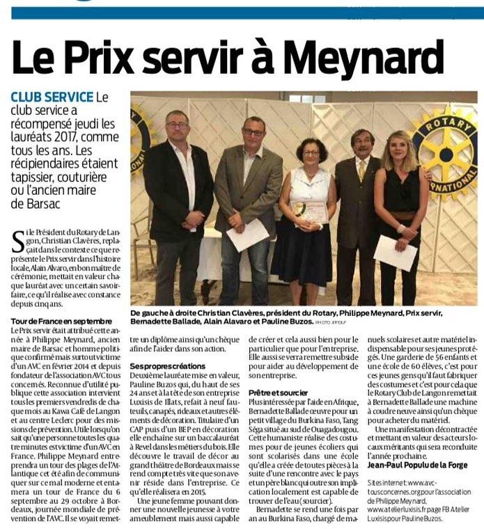 100617   le prix servir  Meynard SudOuest