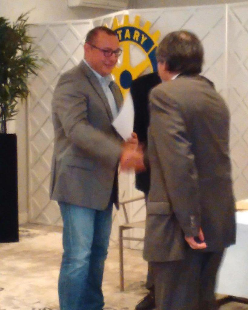 Ce soir le Rotary Club Langon Sauternes ma attribu lehellip