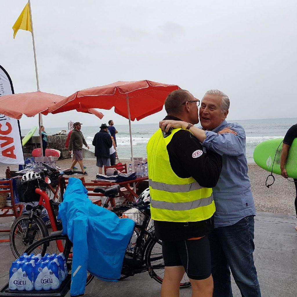 Arrive  Biarritz du Tour des plages pour prvenir leshellip